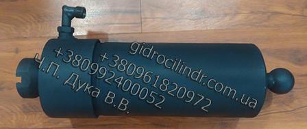 Гидроцилиндр Мусоравоза Подъем кузова Газон ГЦТ 1-3-17-695 (3)